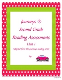 Journeys 2nd Grade Reading Assessments unit 1