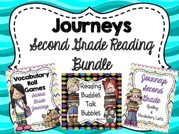 Journeys Second Grade Reading Bundle