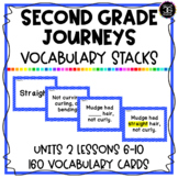 Journeys Second Grade Reading Vocabulary Games and Activities Unit 2