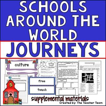 Schools Around the World Journeys Second Grade Supplementa