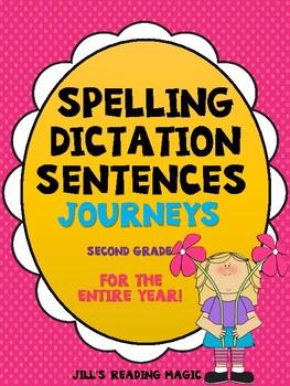 Journeys Second Grade Spelling Dictation Sentences