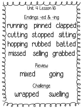 Journeys Second Grade Spelling Word Posters