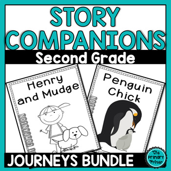 Journeys SECOND Grade Story Companions: THE BUNDLE