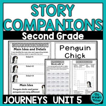 Journeys SECOND Grade Story Companions:  Unit FIVE
