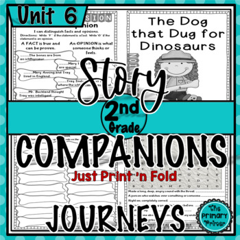 Journeys SECOND Grade Story Companions:  Unit SIX