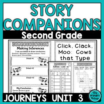 Journeys SECOND Grade Story Companions:  Unit THREE