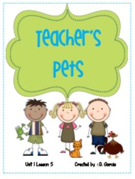 Journeys Second Grade Teacher's Pets