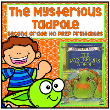 The Mysterious Tadpole Second Grade NO PREP Supplemental Printables