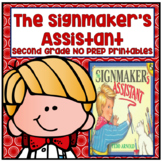 Journeys Second Grade - The Signmaker's Assistant Unit 4 Lesson 19 NO PREP
