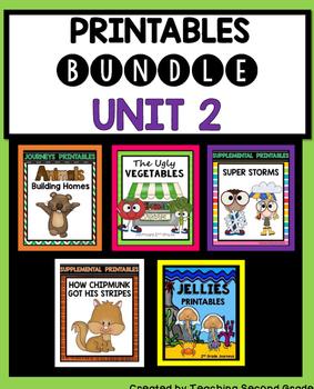 Journeys Second Grade Unit 2 Worksheets