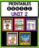 Journeys Second Grade Unit 2 Worksheets