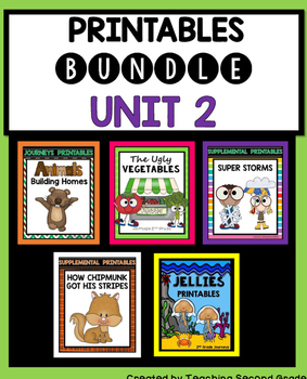 Second Grade Reading Unit 2 Printables