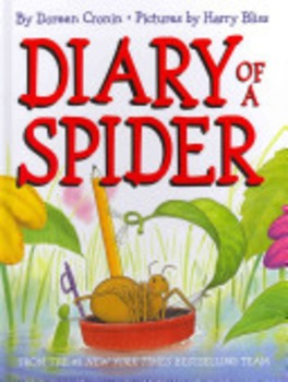 "Journeys Second Grade Unit 1 Lesson 4:  ""Diary of a Spider""  Lesson Plans"