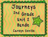 Journeys Second Grade Unit 2 Bundle 2012, 2014, 2017