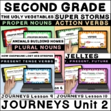 Journeys Second Grade Unit 2 Grammar BOOM Cards / Digital