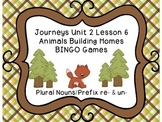 Journeys Second Grade Unit 2 Lesson 6 BINGO Games