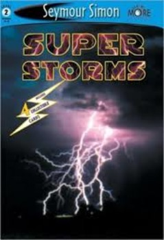 "Journeys Second Grade Unit 2 Lesson 8: ""Super Storms"" Lesson Plans"