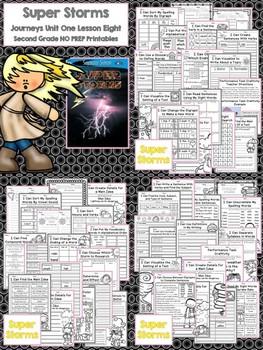 Journeys Second Grade - Unit 2 NO PREP Printable BUNDLE (Lessons 6-10)