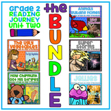 Take a Reading Journey Grade 2 - Unit 2 NO PREP Printable BUNDLE (Lessons 6-10)