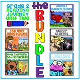 Distance Learning Take a Reading Journey Grade 2 - Unit 2 NO PREP BUNDLE