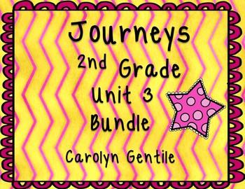 Journeys Second Grade Unit 3 Bundle