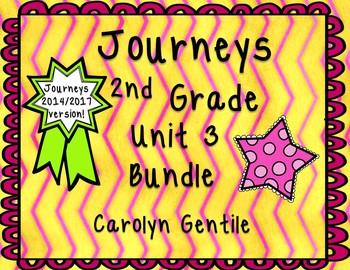 Journeys Second Grade Unit 3 Bundle 2014/2017 Version