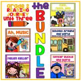 Journeys Second Grade - Unit 3 NO PREP Printable BUNDLE (Lessons 11-15)