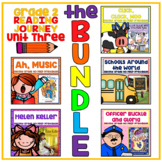 Take a Reading Journey Grade 2 - Unit 3 NO PREP Printable BUNDLE (Lessons 11-15)