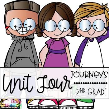 Journey's Second Grade Unit 4 Bundle
