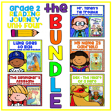 Distance Learning Take a Reading Journey Grade 2 - Unit 4 NO PREP BUNDLE