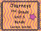 Journeys Second Grade Unit 5 Bundle 2012 Version