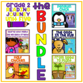 Take a Reading Journey Grade 2 - Unit 5 NO PREP Printable BUNDLE (Lessons 21-25)