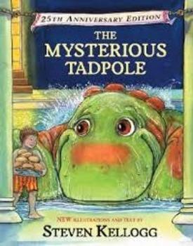 """Journeys Second Grade Unit 6 Lesson 26 """"The Mysterious Tadpole"""" Lesson Plans"""