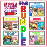 Take a Reading Journey Grade 2 - Unit 1 NO PREP Printable BUNDLE (Lessons 1-5)