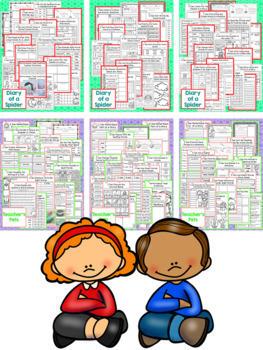 Take a Reading Journey Grade 2 - Unit 1 NO PREP Printable BUNDLE (Lessons 1-5)