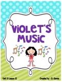 Journeys Second Grade Violet's Music Unit 3 Lesson 12
