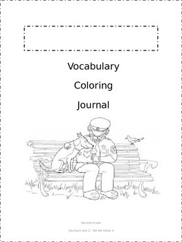 Journeys Vocabulary Coloring Grade 2 Theme 3