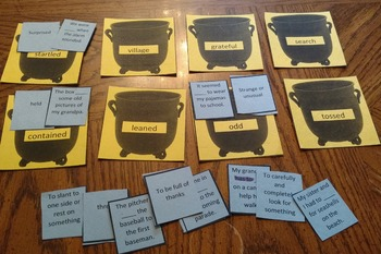 Journeys Second Grade Vocabulary Learning Box Games- Unit 6