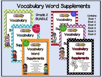 Journeys Second Grade Vocabulary Words BUNDLE-- ALL 30 UNITS!