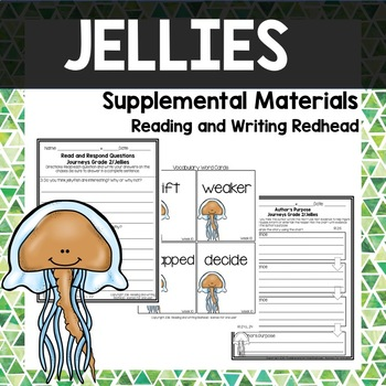 Journeys Second Grade Week 10 - Jellies