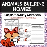 Animals Building Homes - Journeys Second Grade Week 6