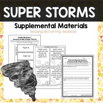 Journeys Second Grade Week 8 - Super Storms