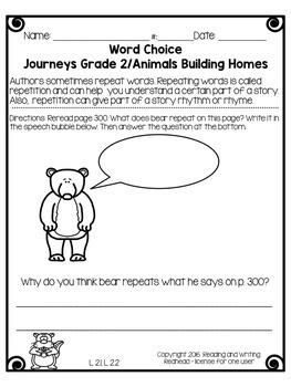 Journeys Second Grade Week 9 - How Chipmunk Got His Stripes
