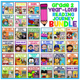 Take a Reading Journey Grade 2 - Whole Year NO PREP Printable BUNDLE (1-30)