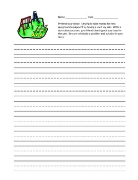 Journey's Second Grade Writing Prompts Unit 4
