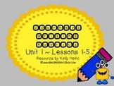 Journeys Second Grade Writing Rubrics Unit 1