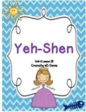Journeys Second Grade Yeh-Shen