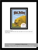 "Journey's Selection ""Old Yeller"" Comprehension & Vocabulary Worksheet"