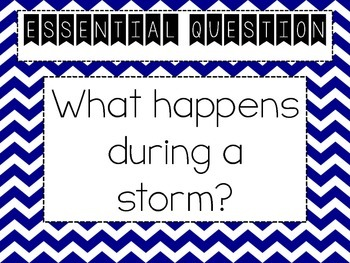 Journeys Series: Focus Wall Unit 1 Lesson 2 (The Storm)