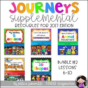 Journeys Set #2 Lessons 6-10